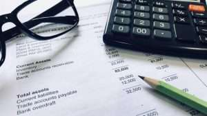 Accounting and finance concept